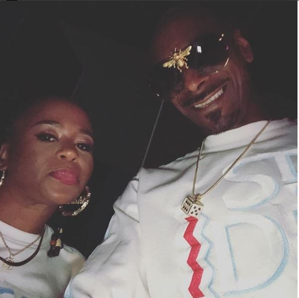 Snoop Dogg twinning with his wife of 21-years in new photos