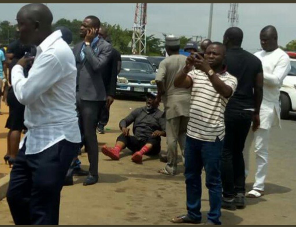 Lawyer, Mike Ozekhome reveals why Dino Melaye jumped off police van