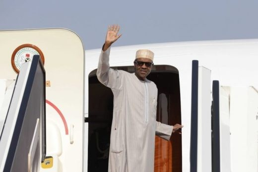 Breaking: President Buhari off to the UK to see his doctor