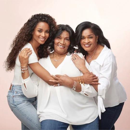 Ciara shares beautiful three-generation family photo with her mum and grandmum