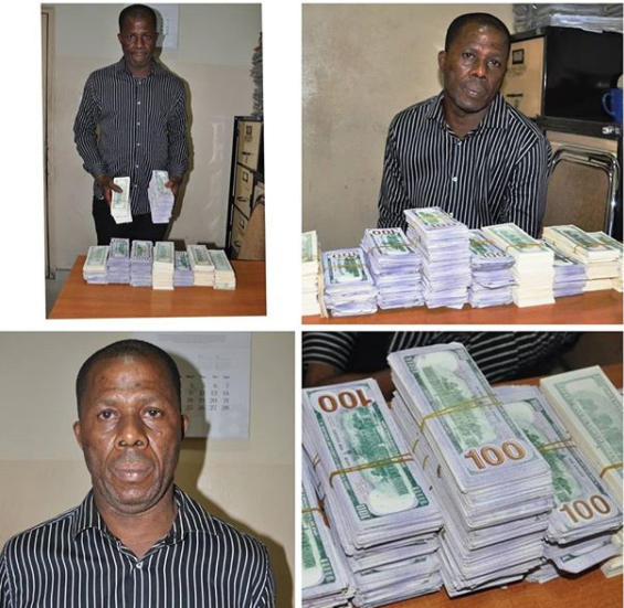 Photos: Federal high court remands man in prison after getting arrested with fake $492,000 notes