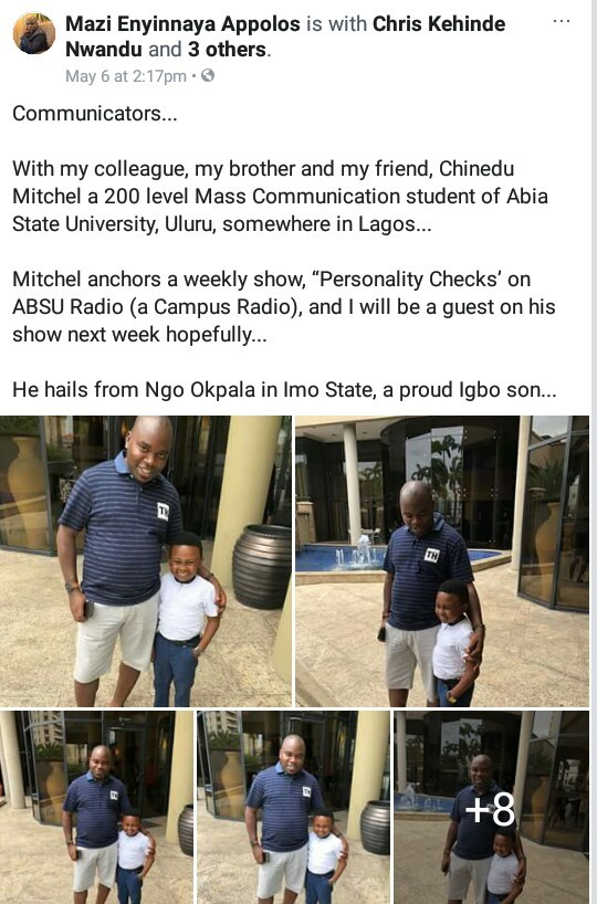 Is this university student and radio anchor, the smallest man in Nigeria? (photos)
