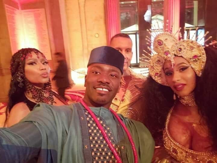 Photos of Cardi B & Nicki Minaj conversing at the MET Gala has the internet buzzing