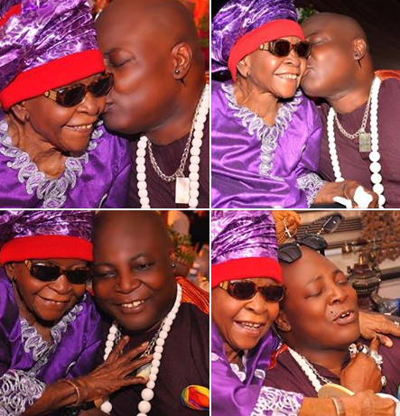 Singer, Charly Boy celebrates his mum who turns 100 years old today