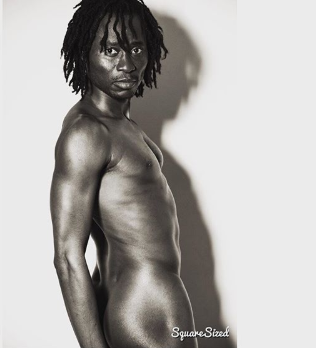 Bisi Alimi poses completely nude in new photo