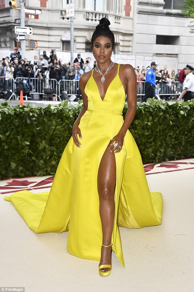 Gabrielle Union shines like the sun at Met Gala
