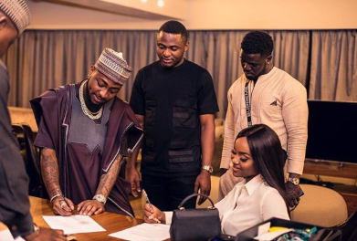 More assurance! Davido secures a cooking show deal for his girlfriend, Chioma