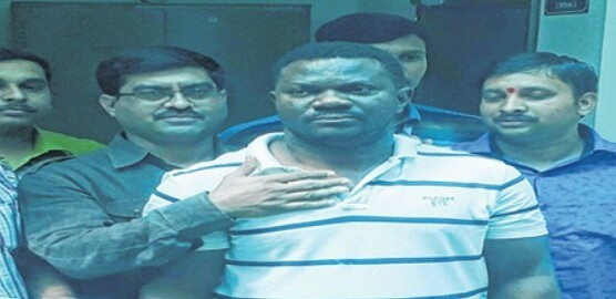 Nigerian man arrested in India for online fraud
