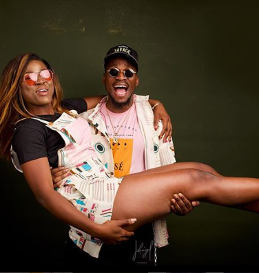"Tobi publicly declares Alex is his ""fave village girl"" after a follower tried to shame him for hanging with a ""village Nsukka girl"""