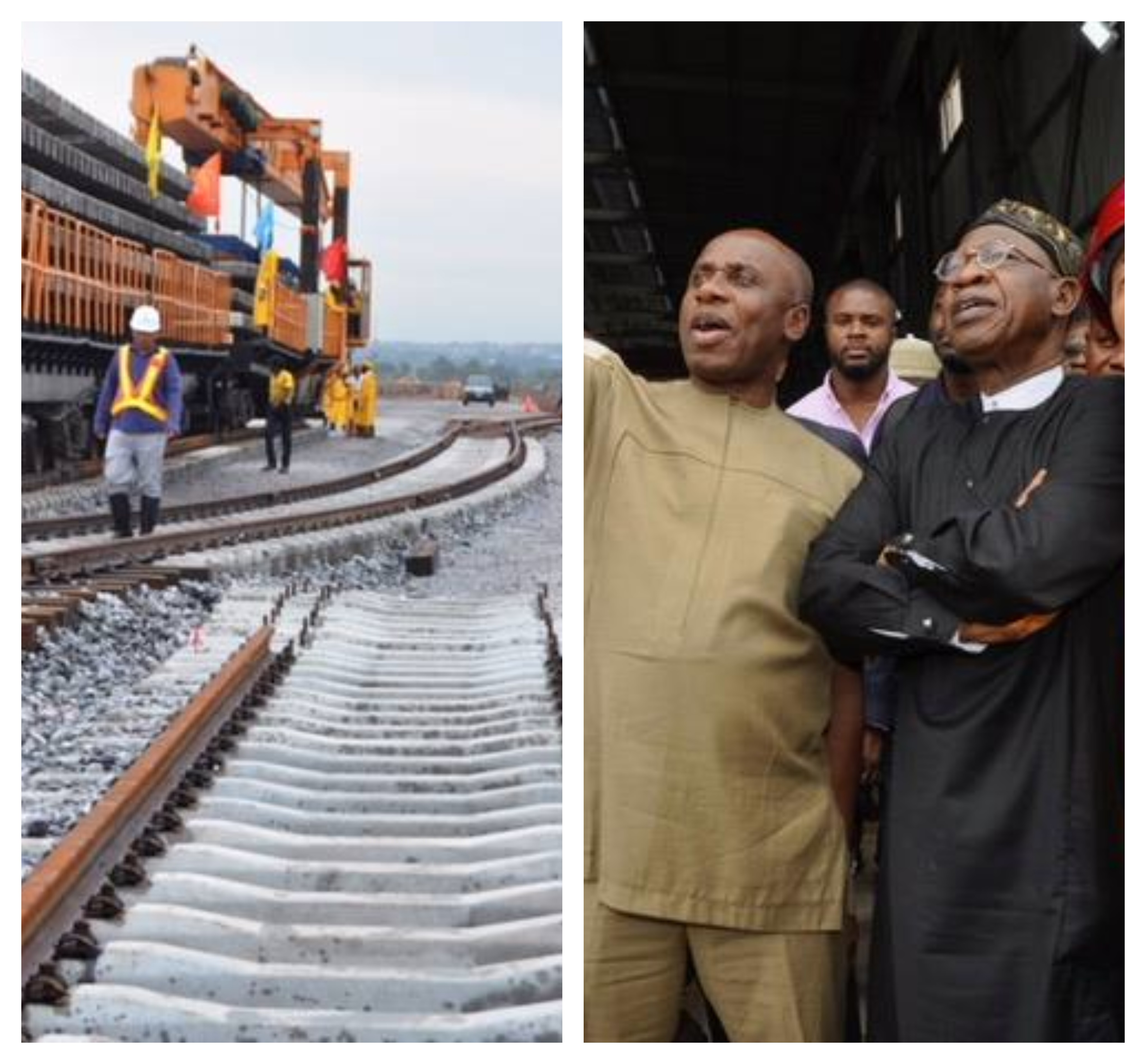 Lai Mohammed begins inspection of infrastructural projects being executed by the Buhari-led administration(photos)