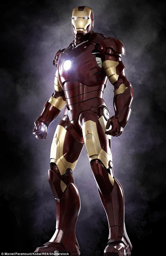 Iron Man suit used in Marvel