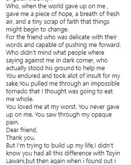 Nina writes open letter apologizing to Bobrisky for working with Toyin Lawani