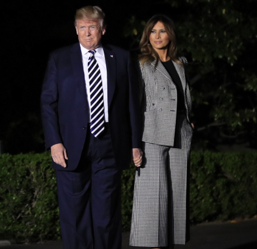 Photos: President Trump and Melania welcome three American prisoners released by North Korean leader, Kim Jung Un