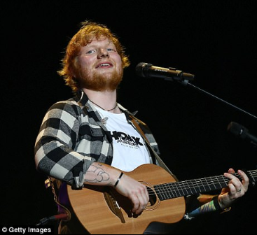 Ed Sheeran climbs into the Sunday Times Rich List after earning more money than any other British musician this year