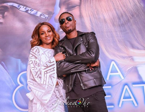 Seyi Shay and Vector would make a cute couple....see loved up photos of them