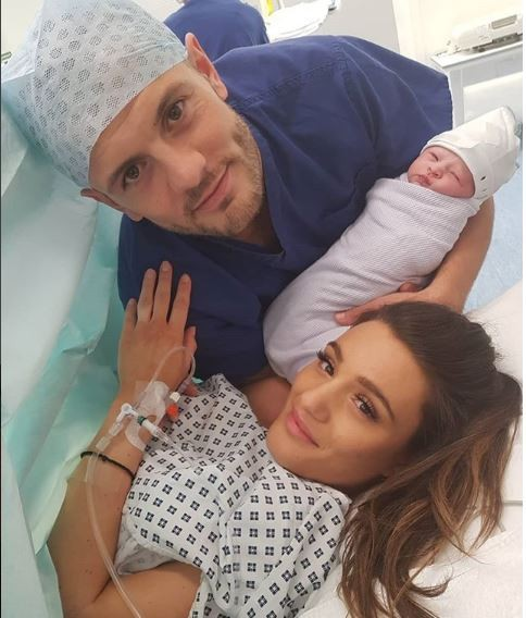 Arsenal and England star, Jack Wilshere and wife Adriani welcome their first child, a baby girl Siena