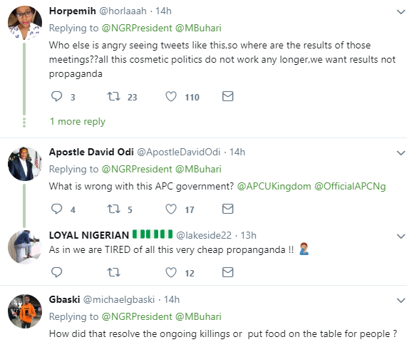 Nigerians react after presidency tweeted Buhari is the first African president to visit China