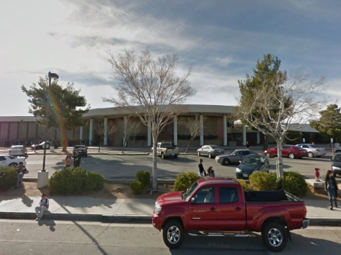 Authorities respond to multiple reports of a man with a gun at Highland high school in Palmdale, California; suspect in custody