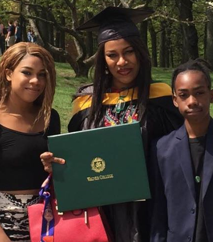 Photos: Regina Askia bags degree at Wanger College