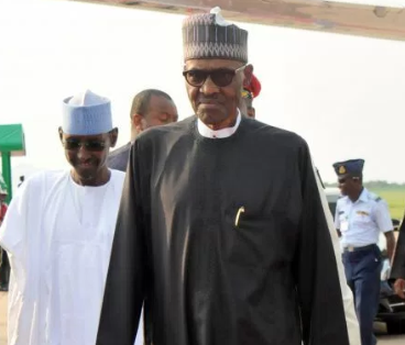 President Buhari arrives Abuja after his visit to his doctors in the UK