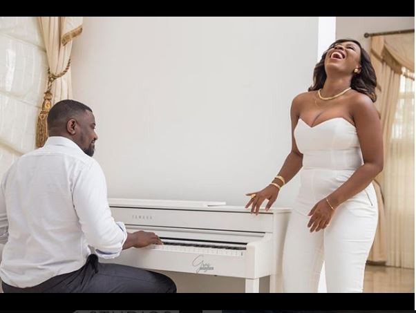 Check out stunning pre-wedding photos of John Dumelo and his beautiful bride-to-be (Photos)