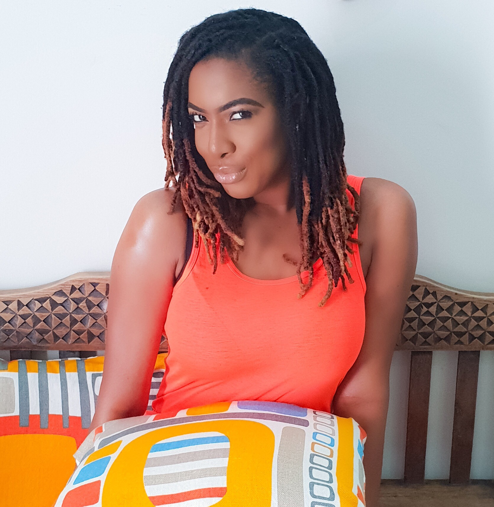 Actress Chika Ike debuts dreadlocks look