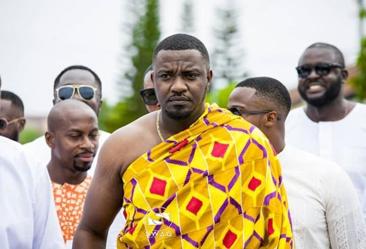 See star-studded photos from the traditional wedding of John Dumelo and his girlfriend Gifty Mawunya