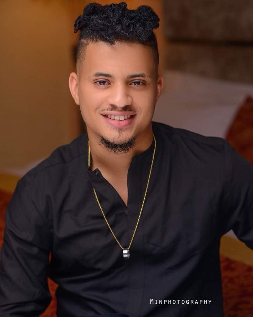 New photos of BBNaija star Rico Swavey looking all handsome?and dapper?
