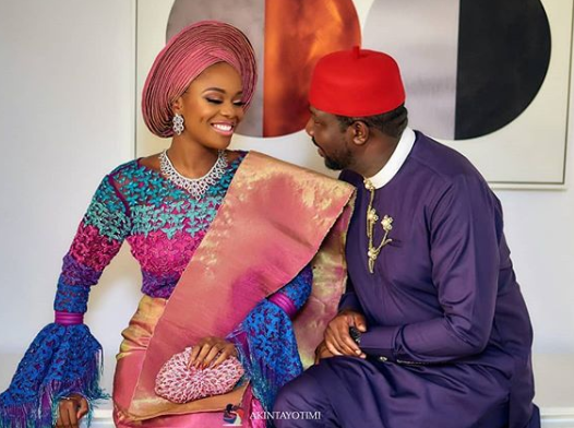 Photos from the traditional engagement of media personality, Zainab Balogun