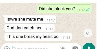 Nigerian lady accidentally exposes herself while cheating on her boyfriend of 6 years (Photos)