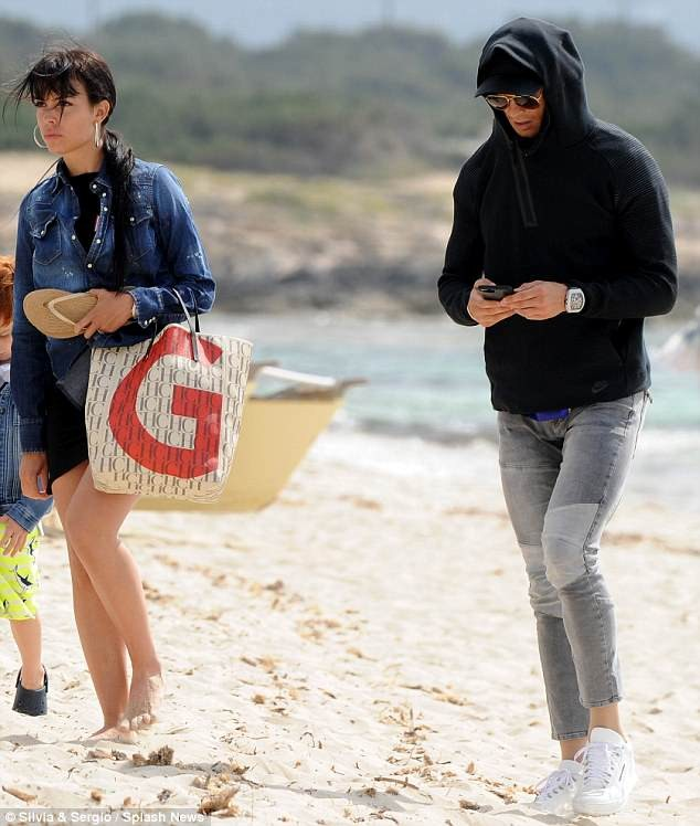 Cristiano Ronaldo treats girlfriend Georgina and son Cristiano Jr to a weekend gateway in Ibiza (Photos)