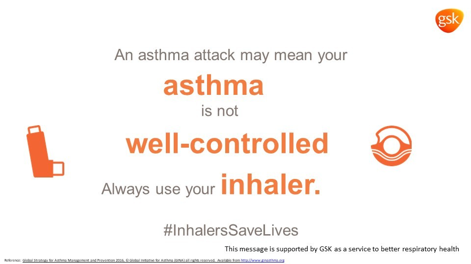GSK Marks World Asthma Day 2018