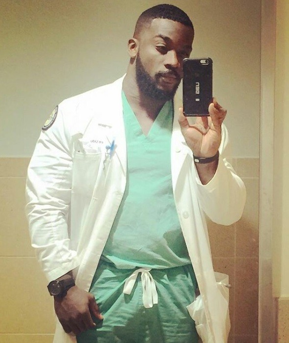 """Two Bachelors, two Master's degrees, PHD"" – Meet the hottest and brightest Nigerian medical doctor in town"