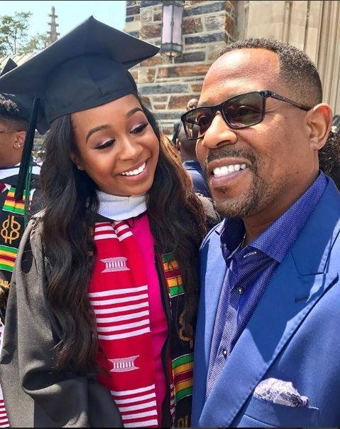 Actor Martin Lawrence celebrates oldest daughter Jasmin as she graduates from Duke University (Photos)