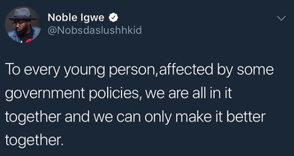 Noble Igwe clarifies his controversial tweets about Yahoo Yahoo boys