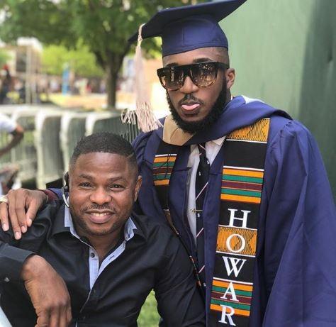 Photos:?Yinka Ayefele?s handsome son graduates from?Howard University