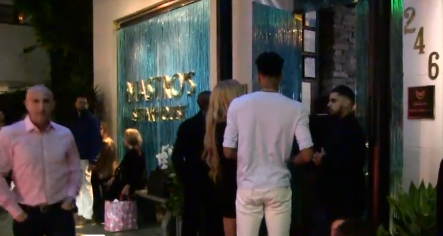 The basketball player Dejounte Murray and his girlfriend refused to enter the restaurant in Beverly Hills for their dress