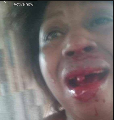 Nigerian father tells his kids their mother is dead then beats her when she shows up years later to reunite with her kids