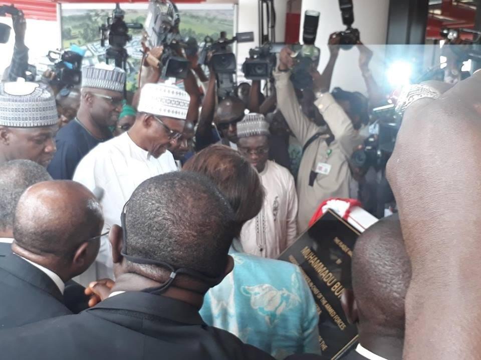 Photos: President Buhari commissions EFCC