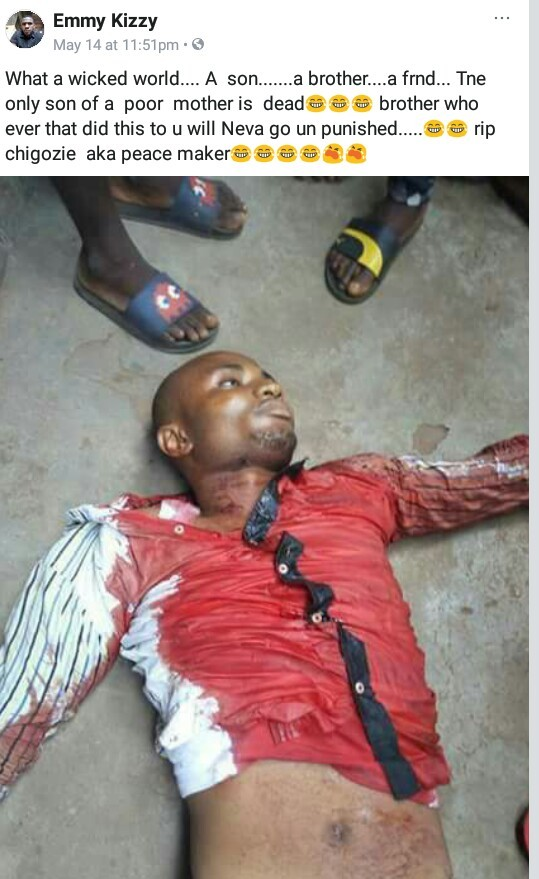 Suspected Vikings member shot dead by rival cult group in Imo (photos)