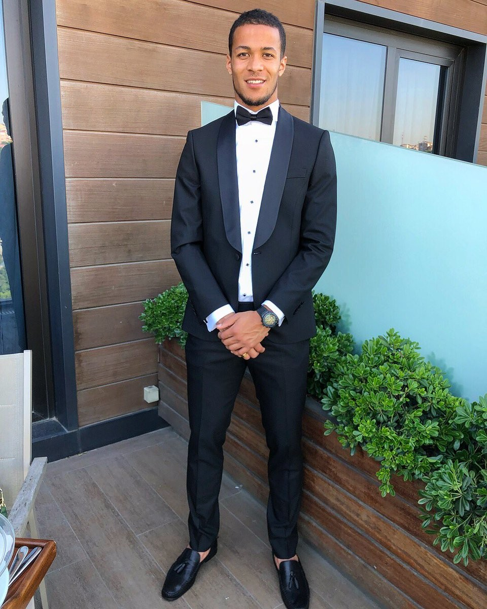 Super Eagles player, William Troost-Ekong shares cute photo with his pregnant girlfriend