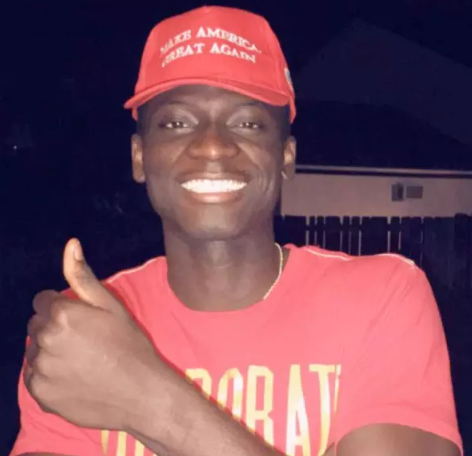 "Black man assaulted for wearing a Trump-supporting ""Make American Great Again"" cap"