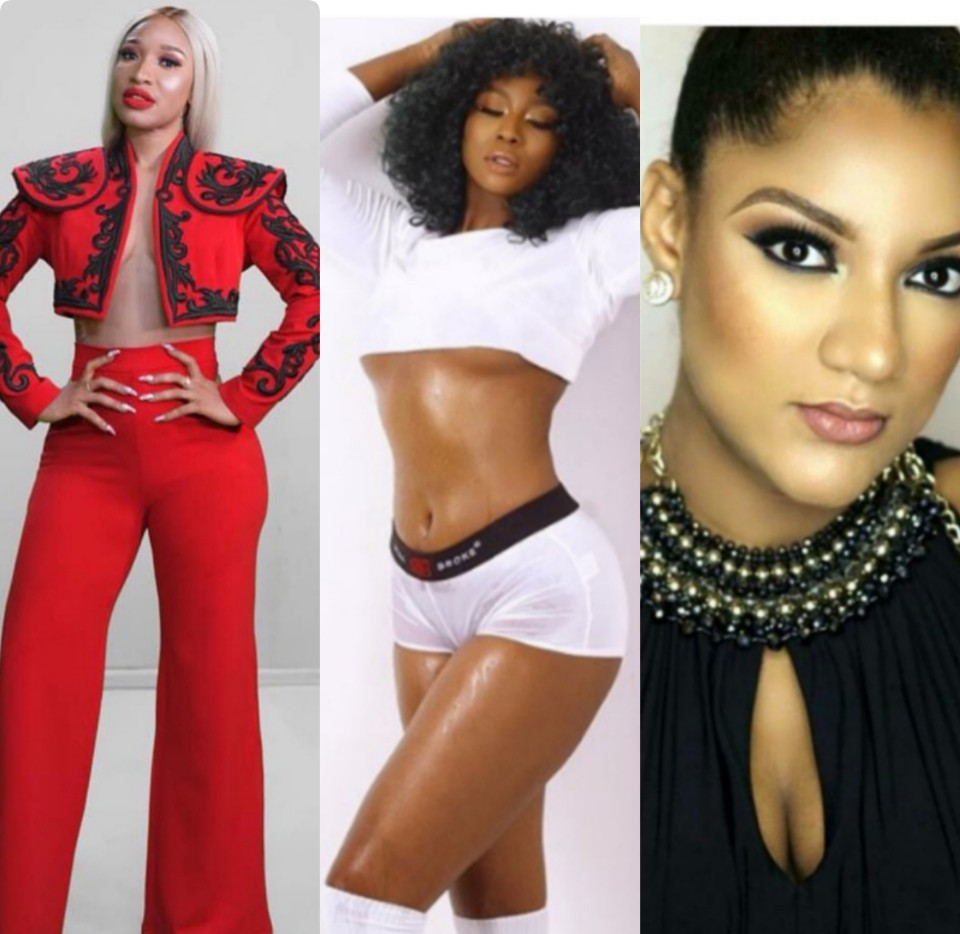 Tonto Dikeh promises Gifty an Iphone or gift worth 1 million after her cosmetic surgery shade at Lilian Afe