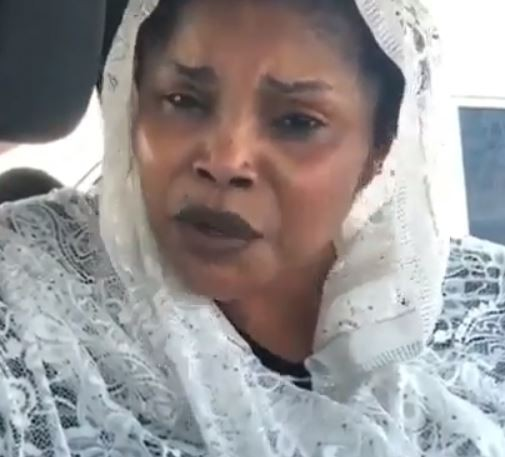Video: 'We do not need anybody's money, Canadian government is taking care of Aisha Abimbola's funeral' - Lola Alao