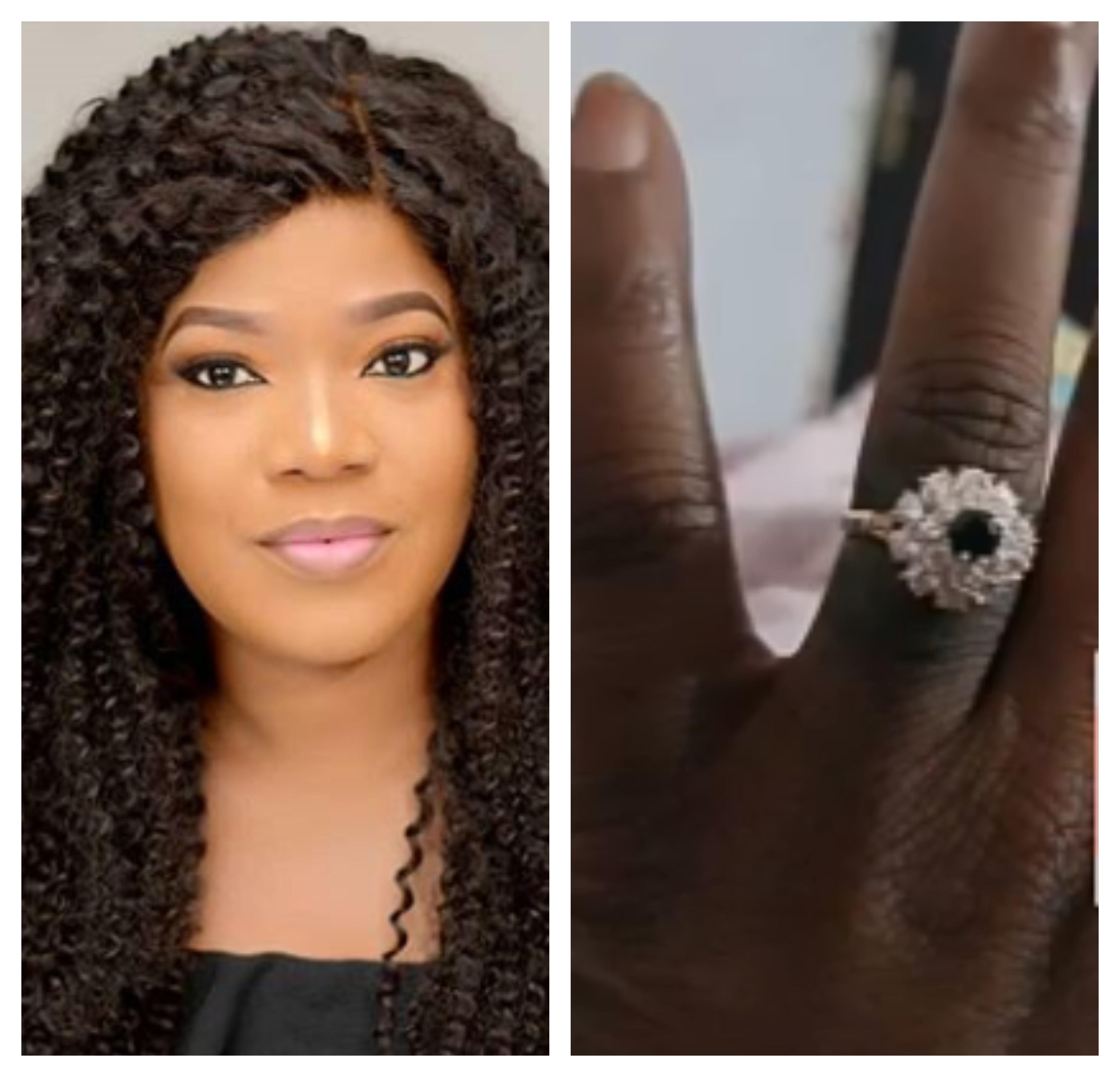 Actress Toyin Abraham is engaged!
