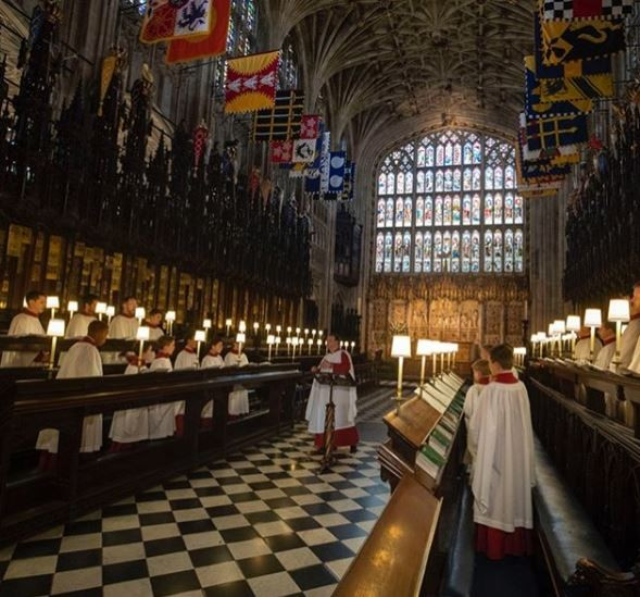 #RoyalWedding: Photos from?rehearsals of 250 members of the Armed Forces and choristers