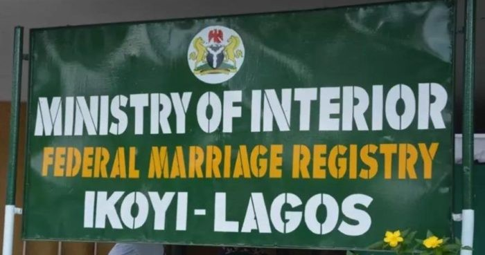 Court bars Ikoyi Registry from conducting weddings