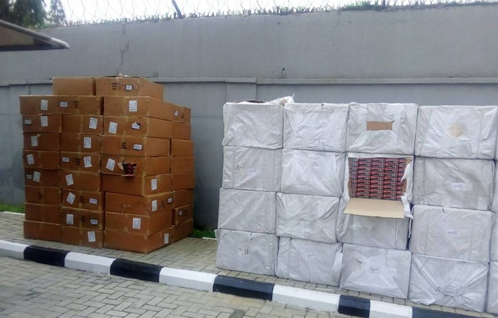 Photos: NDLEA seize 4 Tonnes of Tramadol at Lagos airport
