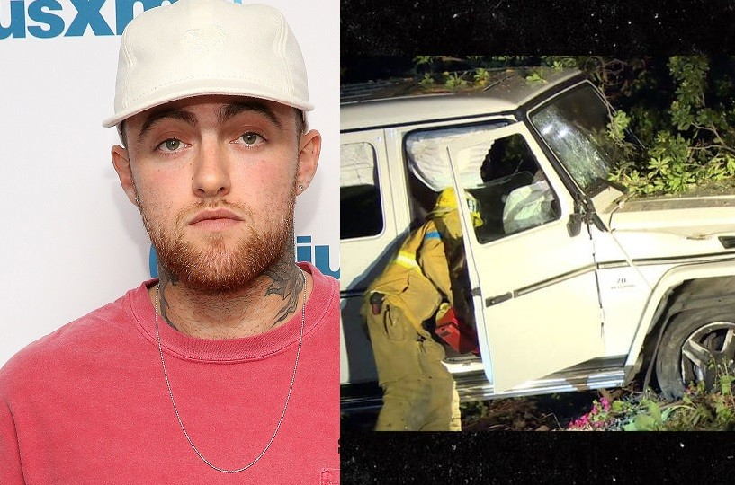 Mac Miller arrested for DUI & hit and run, days after breaking up with his ex-Ariana Grande (Photo)