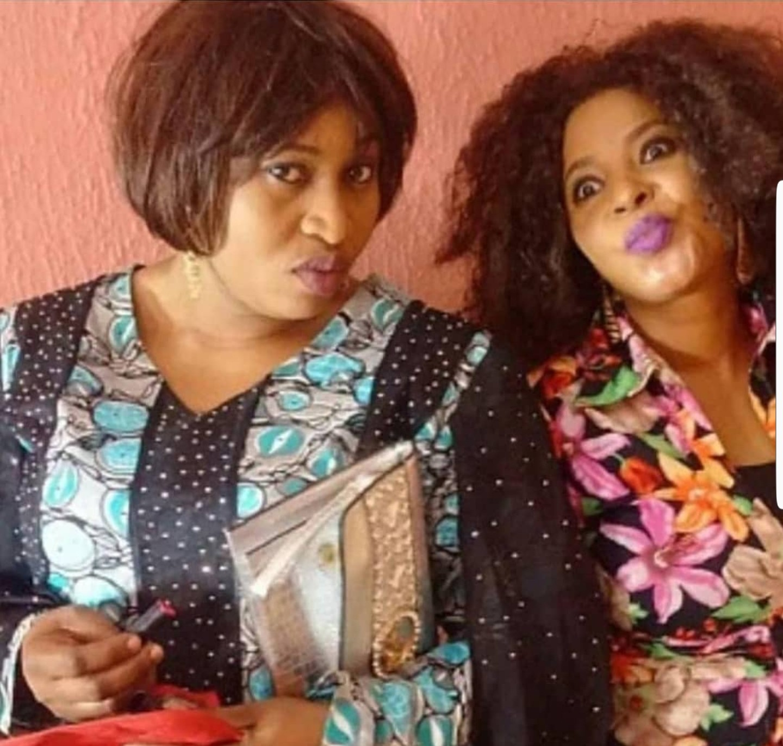 Sad!... Photo of dead actresses Moji Olaiya and Aisha Abimbola together
